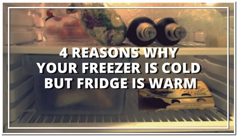 Refrigerator Freezer Works But Fridge Is Warm