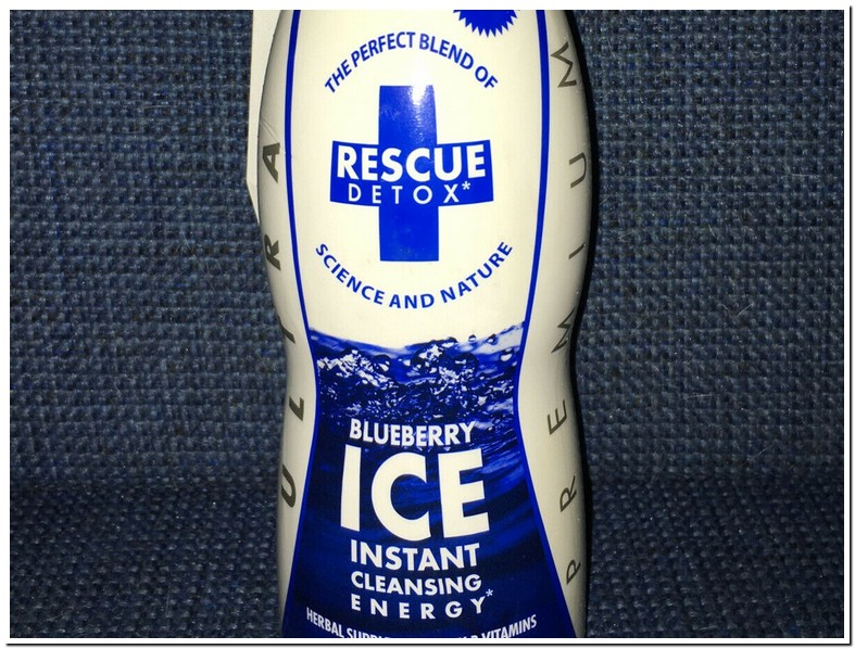 Rescue Ice Detox Drink Instructions
