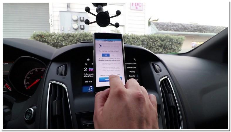 Reset Sirius Radio Car