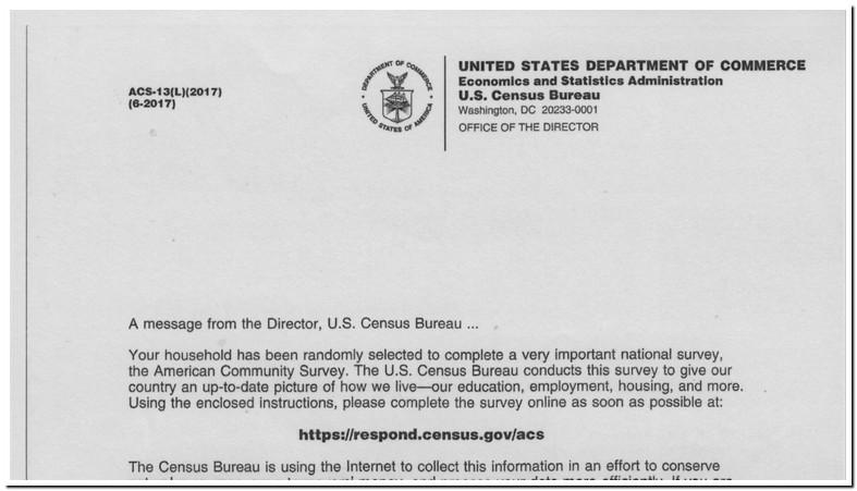 Respond Census Gov Acs Scam