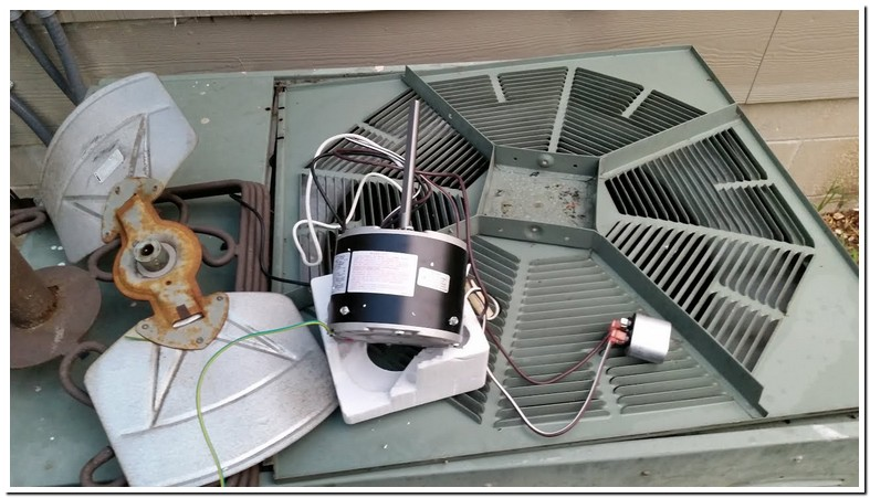 Rheem Air Conditioner Outside Fan Not Working