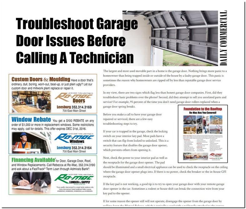 Romac Garage Door Repair