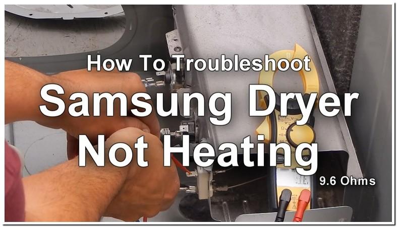 Samsung Dryer Heater Not Working