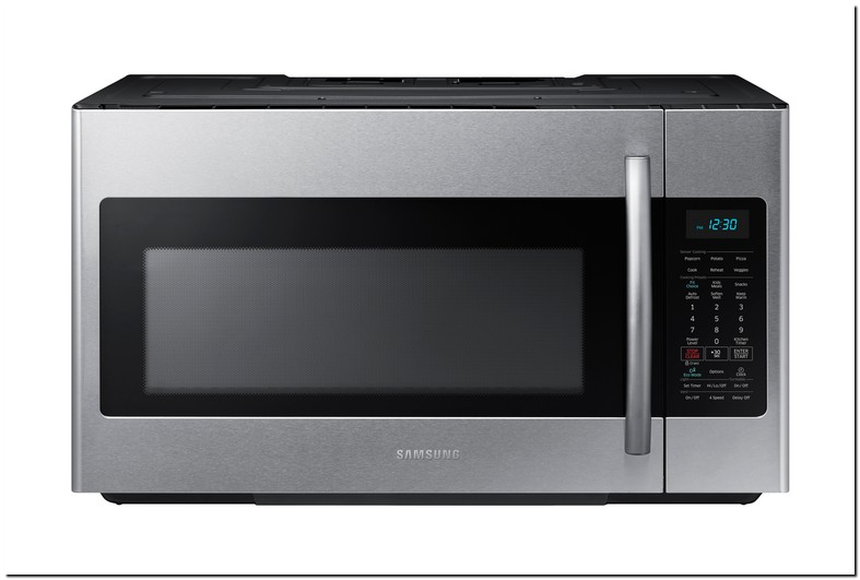 Samsung Over The Range Microwave Manual Me18h704sfs
