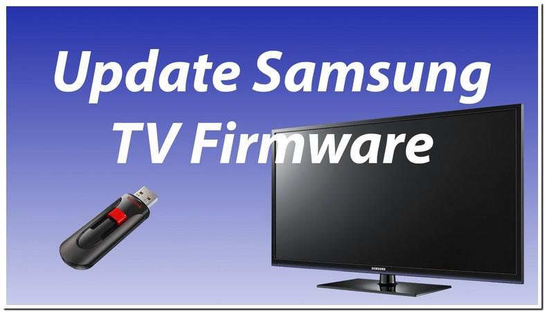 Samsung Plasma Tv Update Firmware Usb