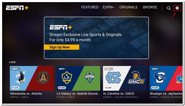 Samsung Smart Tv Espn Plus App