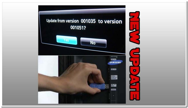 Samsung Tv Firmware Update Via Usb