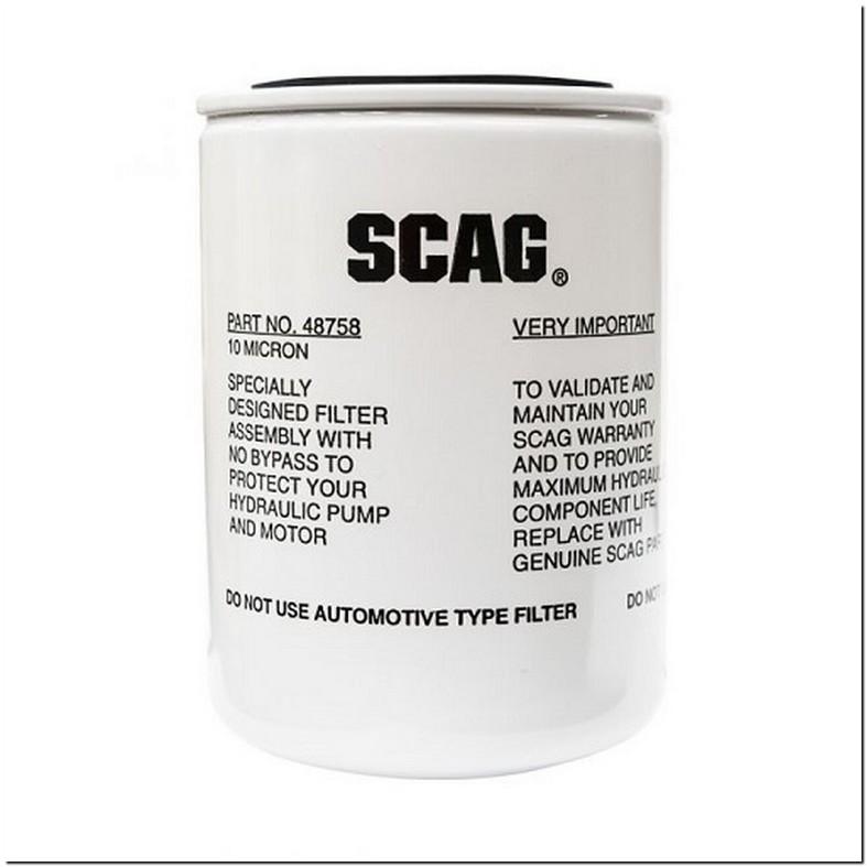 Scag Hydraulic Oil Filter 48758