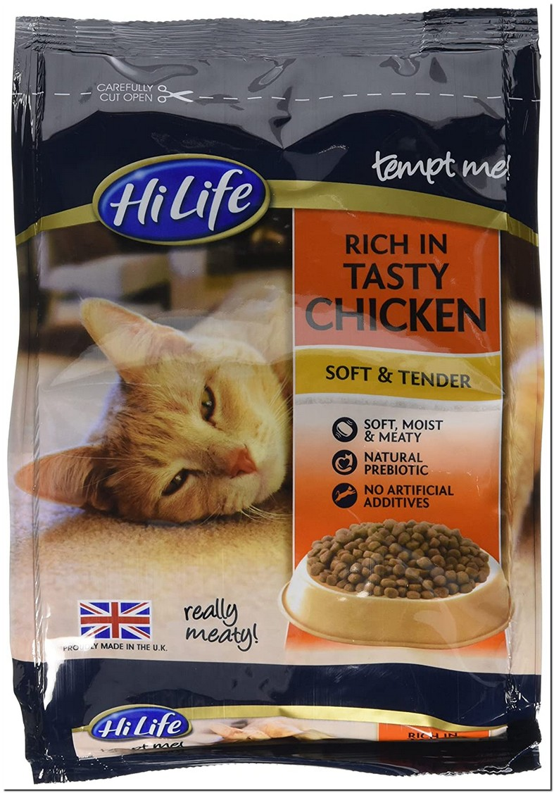 Semi Moist Cat Food Kibble