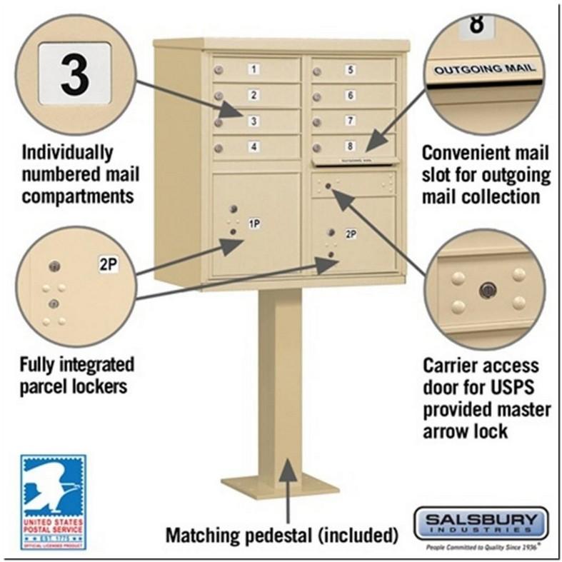 Sending Mail Apartment Mailbox