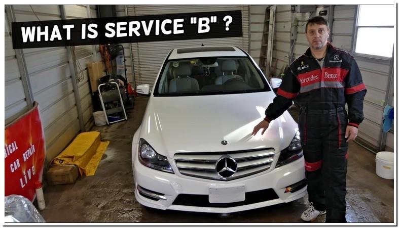Service B 2009 Mercedes C300