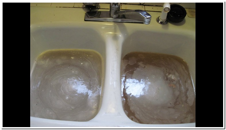 Sink Backs Up Into Other Sink