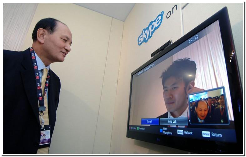 Skype On Smart Tvs