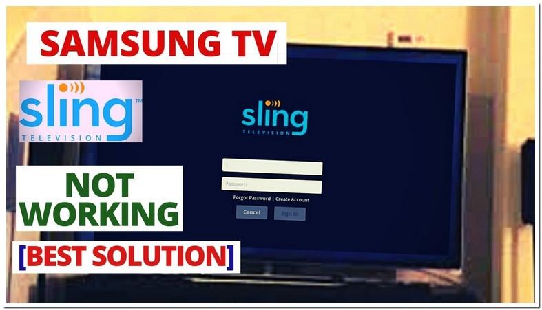 Sling App Not Working On Samsung Smart Tv