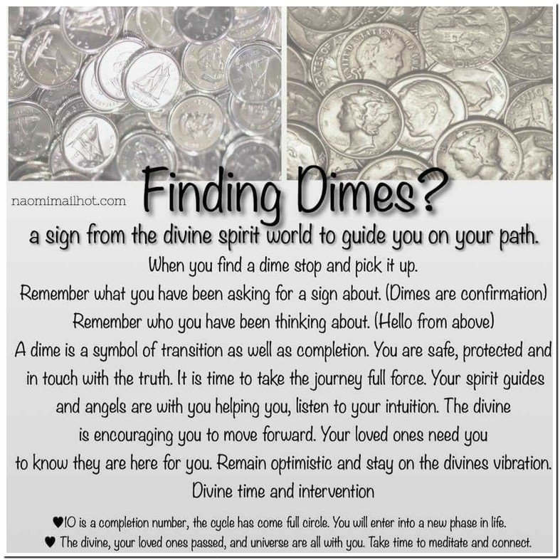 Spiritual Meaning Of Finding Dimes