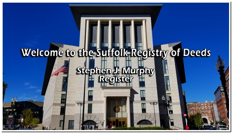 Suffolk County Recorder Of Deeds Ma