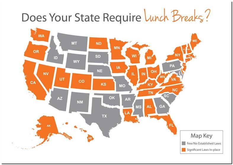 Texas Lunch Break Laws 2019