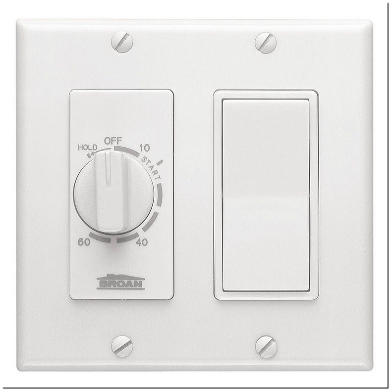 Timer Switch For Bathroom Fan