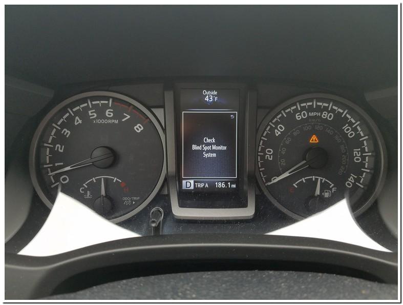 Toyota Highlander Blind Spot Monitor Problems