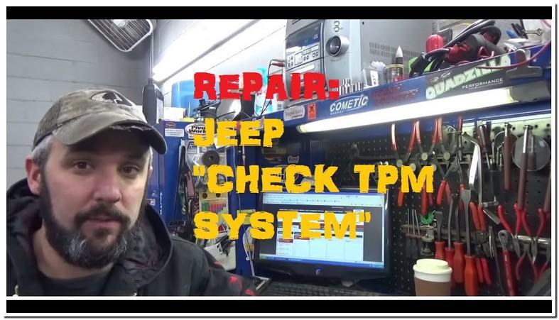 Tpm System Jeep Jk