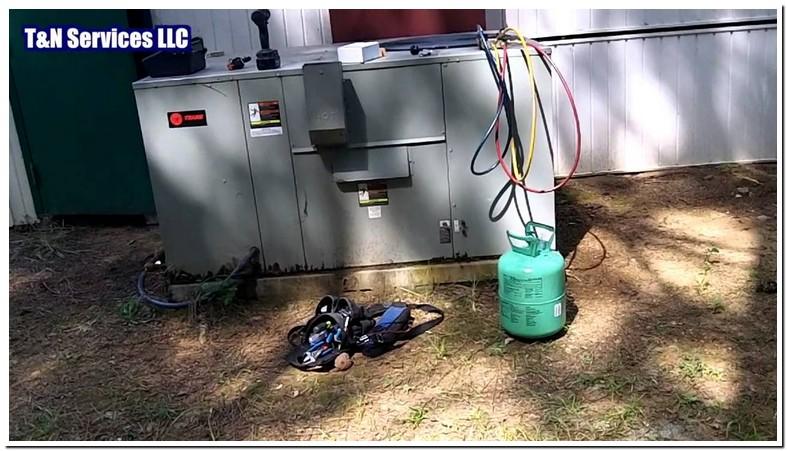 Trane Evaporator Coil Leak Repair
