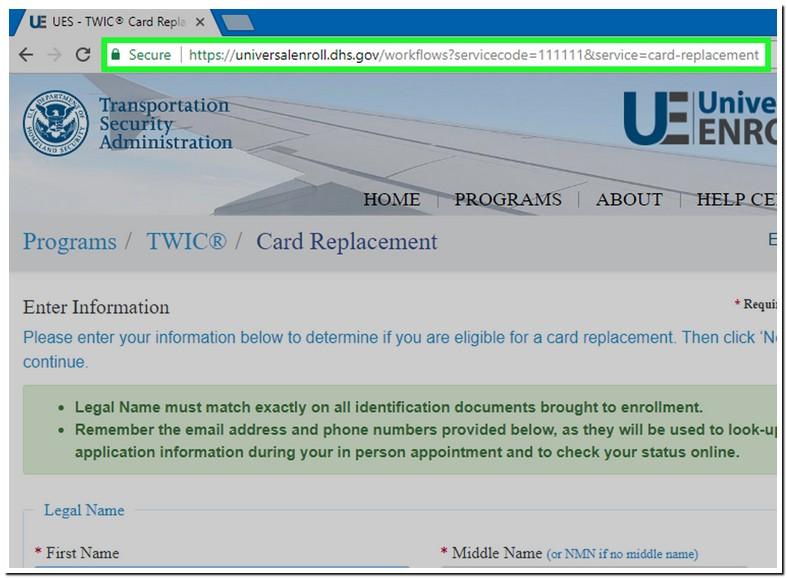 Universal Enroll.dhs.govlocator