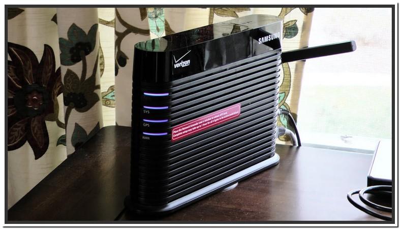 Verizon Wireless Network Extender Lights