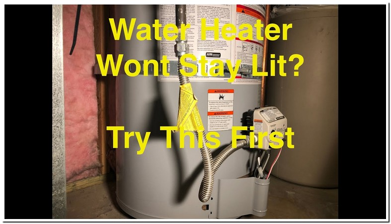 Water Heater Burner Will Not Stay Lit