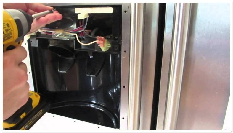 Water Leak From Refrigerator Water Dispenser
