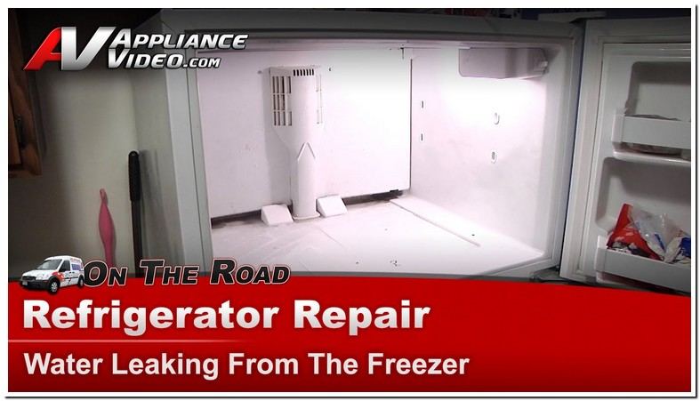 Water Leaking From Refrigerator Bottom