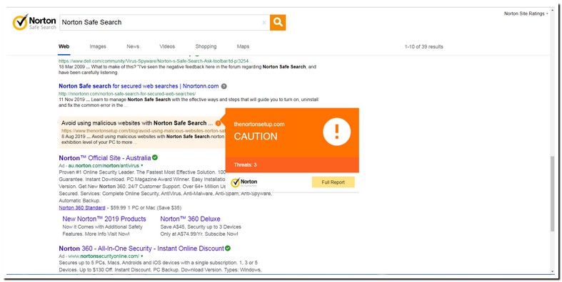 What Is Norton Safe Search
