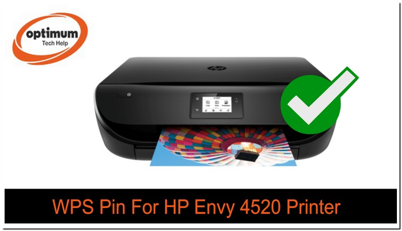 What Is Wps Pin For Hp Envy Printer