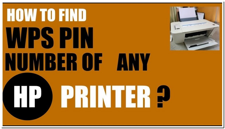 What Is Wps Pin For Hp Printer 8710