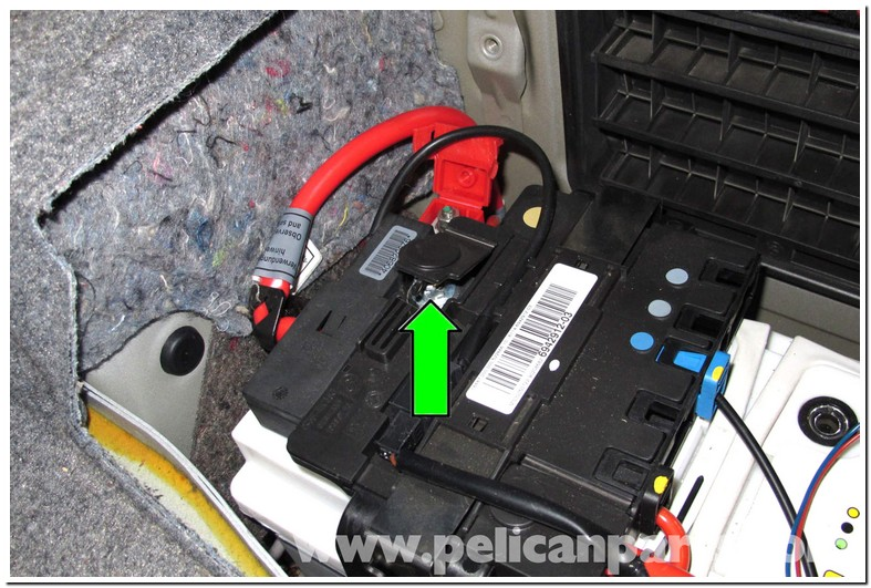 Where Is The Battery In A 2009 Bmw 328i