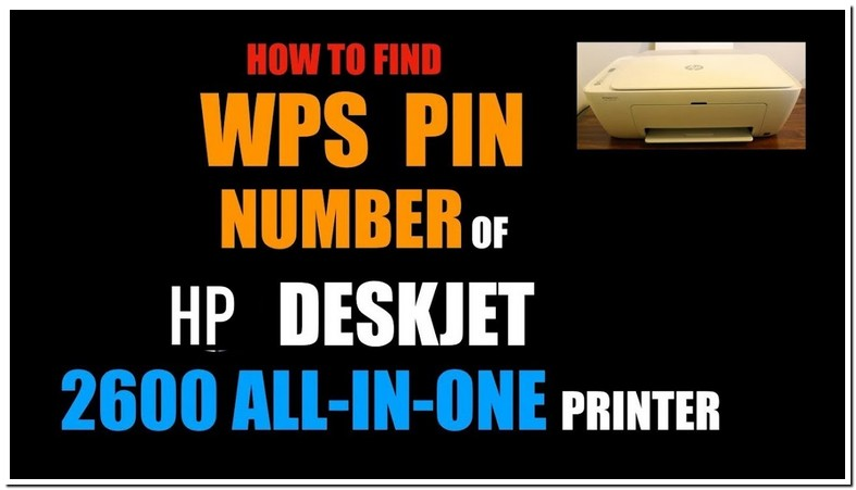 Where Is Wps Pin On Hp Printer 2600