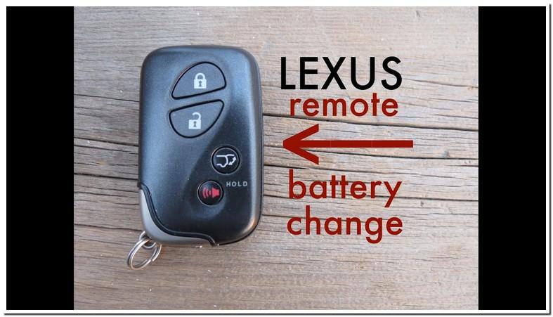 Where To Buy Lexus Key Battery