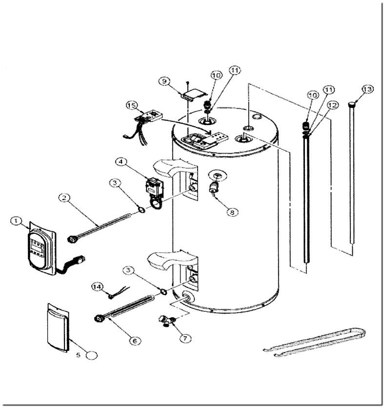 Whirlpool 40 Gallon Water Heater E2f40rd045v