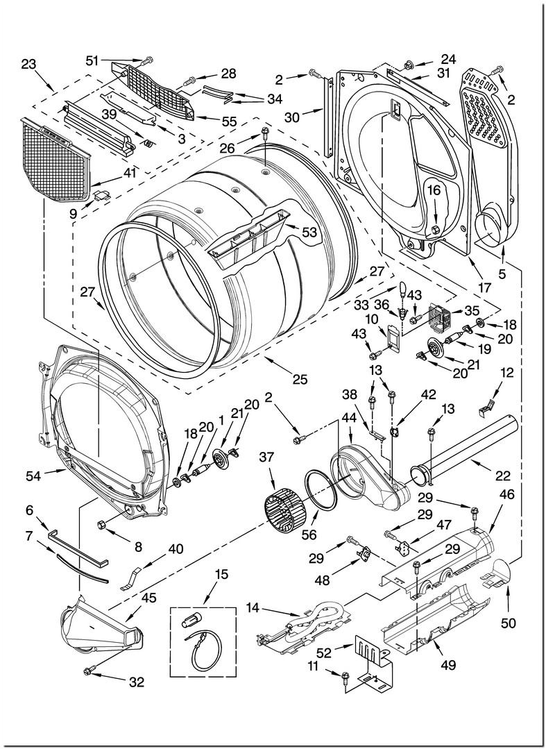 Whirlpool Duet Electric Dryer Parts