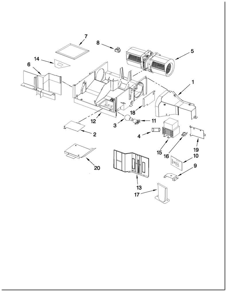 Whirlpool Microwave Wmh31017as Parts