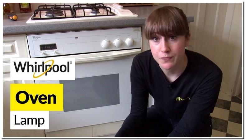 Whirlpool Oven Light Bulb Change