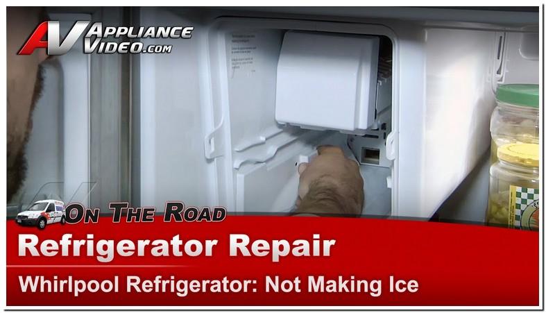 Whirlpool Refrigerator Ice Machine Repair