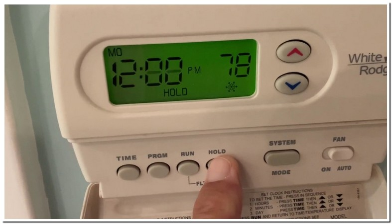 White Rodgers Thermostat Battery