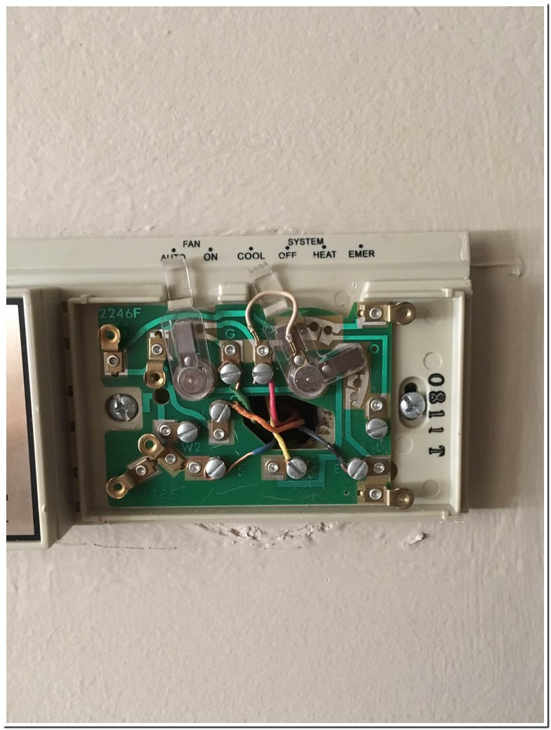 White Rodgers Thermostat Wiring
