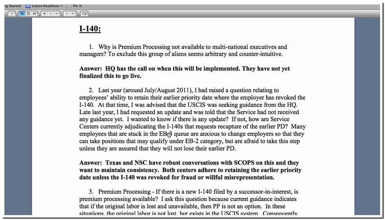 Will Employer Revoke I 140