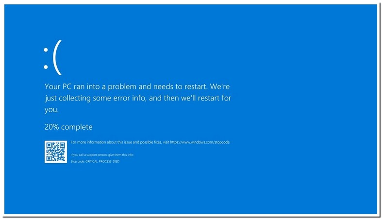 Windows 10 Critical Process Died Loop Fix