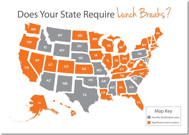 Work Lunch Break Laws Texas